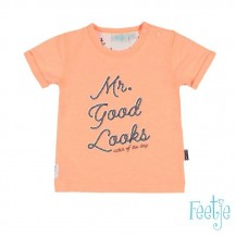 Camiseta Good Looks naranja
