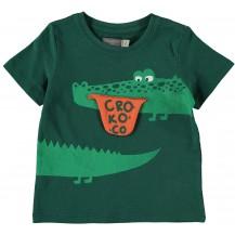 Camiseta cocodrilo verde
