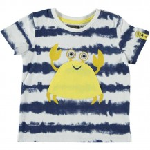 Camiseta tiedye amarilla