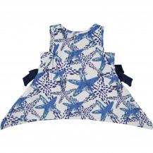 Camiseta starfish azul