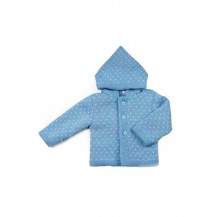 Chaquetón copito azulado