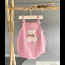 Ranita perle oso rosa