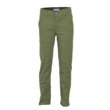 Pantalón niño sarga largo verde