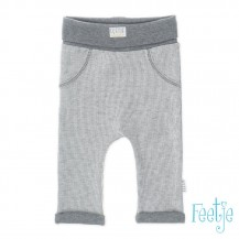 Pantalón fancy knit gris