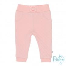 Pantalón algodón rosa love you