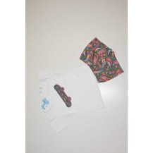 Conjunto boxer + camiseta bohemia