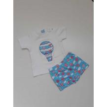 Conjunto camiseta + boxer globos
