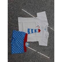 Conjunto camiseta + boxer nautic azulón