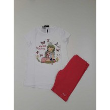 Conjunto leggins + camiseta princess
