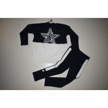 Conjunto  leggins + camiseta estrella marino