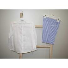 Conjunto bermuda + camisa ibiza