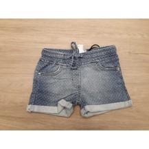 Denim woven shorts
