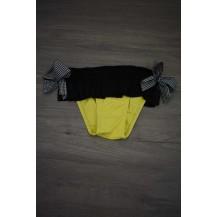Braguita amarilla y negra