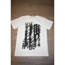 Camiseta live blanca