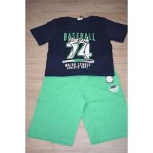 Conjunto baseball marino y verde