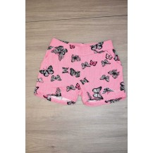 Short mariposas fucsia