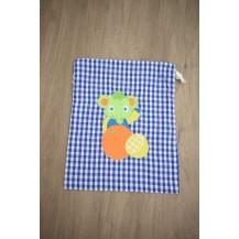 Bolsa elefante azulón