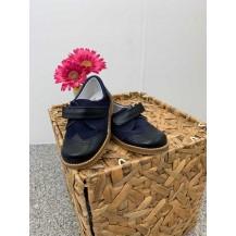Zapato napa marino serraje