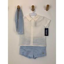Conjunto pantalón + camisa + fajin Coimbra
