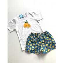 Boxer tela limones + camiseta