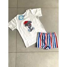 Conjunto boxer + camiseta nautic