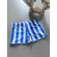 Boxer rayas azul y blanco