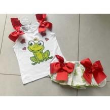 Conjunto braguita + camiseta rana