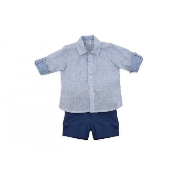 43fdf9ba19ca Bermuda set and bluish collection blouse - Spanish Baby Clothes