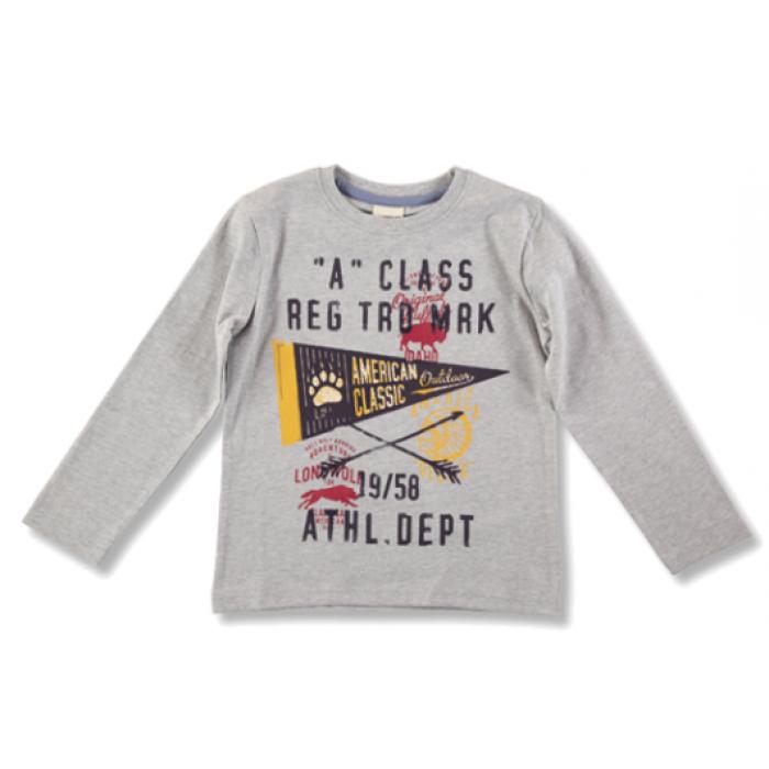 12e6f63437e22c T-shirts and Polos. - 60%. SALE. Light gray long sleeve t-shirt